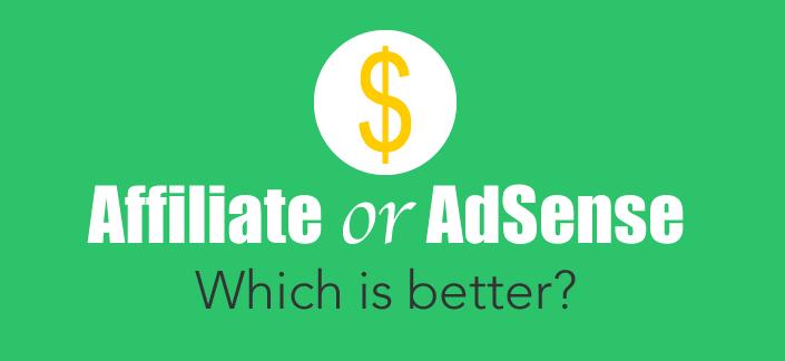 Affiliate or Adsense