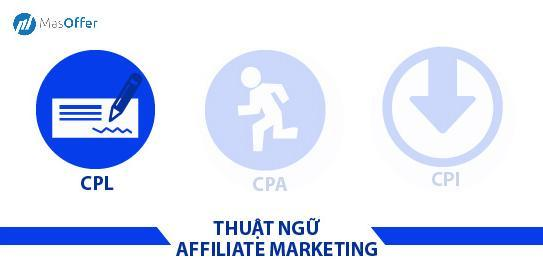 masoffer - thuật ngữ CPL trong Affiliate marketing