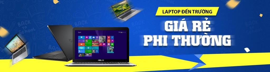 Chiến dịch tiếp thị liên kết laptop đến trường